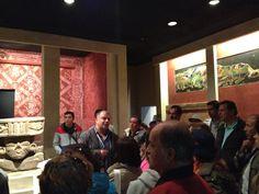 Cátedra en las Salas Teotihuacan y Maya!!!