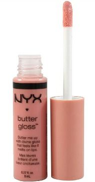Nyx butter gloss in creme brulee...this smells like cake...in loveee! My fav!!!!