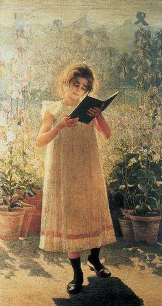 Libro Azzurro, 1900. Giovanni Sottocornola (Italian, 1855-1917).