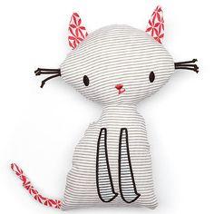 """Doudou """"chat""""- ella & otto- Bébé Petit Pom"""