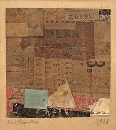 Kurt Schwitters is one of the 20th Century's best known collage artist. Born in Hannover, he studied art in Dresden then began to make collage work around the age of 30. It has been said that…