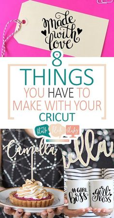 8 Things You HAVE To Make With Your Cricut