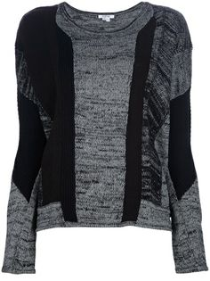 HELMUT LANG Mixed Print Sweater in my #wonderfulstore