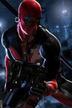 #Deadpool #Fan #Art. (Deadpool) By: CodenameZeus.