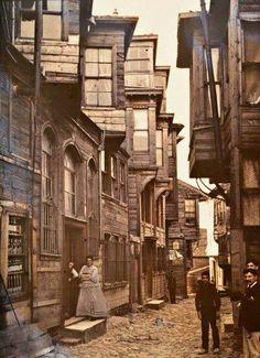 İstanbul, Pera, 1912