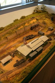 Very characterful modelling of rural Dorset. Layout by Bob Goodwin.