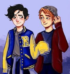 Jughead and Archie (Riverdale)