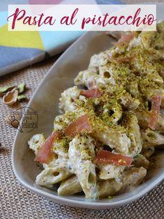 PASTA AL PISTACCHIO di BRONTE Una ricetta tradizionale dei paesi etnei! #pistacchio #sicilia #ricette #pasta #pistacchiodibronte #primipiatti #italianrecipe