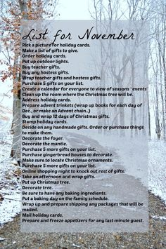 Liste der Dinge, die Sie im November unternehmen können, damit Ihr Dezember ent… List of things to do in November so that your December is relaxed and you can focus on the Advent / Christmas season. Family Traditions, Christmas Traditions, Winter Christmas, Christmas Holidays, Christmas In November, Christmas Things To Do, Preppy Christmas, November Holidays, Hello November