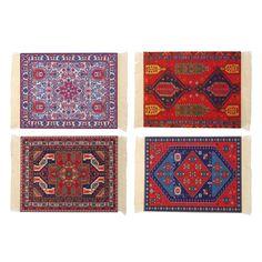 28cm x 18cm tapete de ratón de la alfombra persa del estilo de Bohemia alfombra múltiple del ratón del patrón para la computadora portátil de la PC del tablero del escritorio