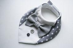 Niño babero camiseta pajarita Babero bebé pañuelo por BizBizBaby