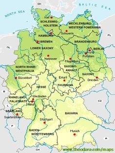 information on germany and the german federal states official sites of the federal states tourism information for germany and the major cities