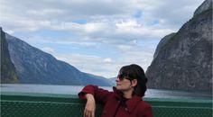 Fiordes Noruega 2016 (atravessando o Naeroyfjord de barco.)