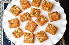Carrot Burfi /Fudge in Instant Pot. Carrot Burfi or Carrot Fudge! Grated carrots are cooked with milk ghee sugar and nuts till they turn into this yummy fudge! Instant Pot Pressure Cooker, Pressure Cooker Recipes, Coconut Recipes, Healthy Recipes, Masala Kitchen, Cooking With Ghee, Gajar Ka Halwa, Food Substitutions, Recipe Substitutes
