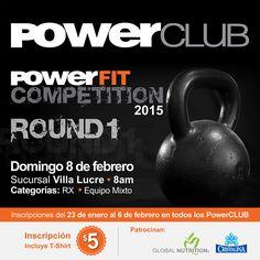 Comienzan los #PowerFitCompetition2015 Domingo 8 febrero @PowerClubPANAMA Villa Lucre, Inscribe TU EQUIPO #PowerFit gracias a @globalnutrition y @aguacristalina