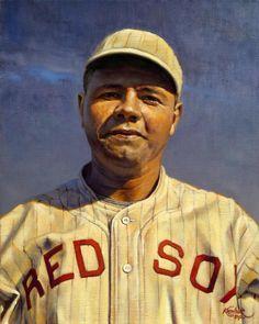 Babe Ruth - Boston Red Sox