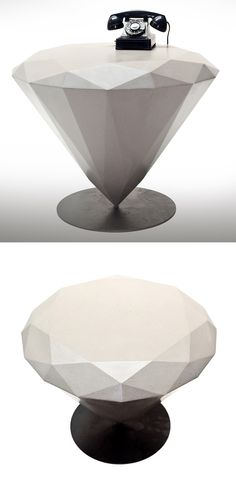 Diamond Shaped Table