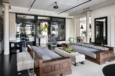 Architect Joel Barkley and designer Monique Gibson collaborated with Meg Ryan on the design of her SoHo loft.