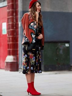 Everyone Is Wearing These £70 Boots at London Fashion Week via @WhoWhatWearUK