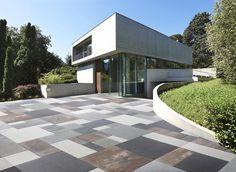 Marble grit outdoor floor tiles MEGA by design João Antonio Ribeiro… Tiles Design For Hall, Wall Tiles Design, Floor Design, House Design, Porch Tile, Porch Flooring, Outdoor Flooring, Terrace Tiles, Terrace Floor