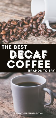 Looking for the best decaf coffee? Try these. Decaf Coffee Benefits, Coffee Drinks, Coffee Cups, Spending App, Coffee Branding, Coffee Beans, Caffeine, Beverages, Medicine