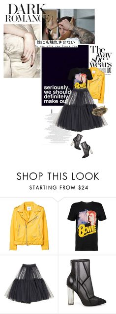 """""""Sin título #1642"""" by solespejismo ❤ liked on Polyvore featuring MANGO, Boohoo, Molly Goddard and Steve Madden"""
