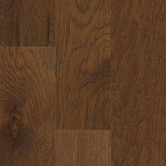 Hickory hardwood flooring - Burnished Amber