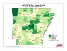 Arkansas celebrates its 180th birthday today.  Between the 1830 and 1840 Censuses, its population grew more than 220 percent to 97,574.  In 2010, the state's population was 2,915,918, making it the nation's 33rd most populous state.
