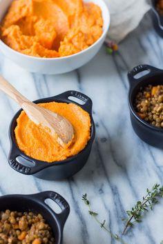 lentil sweet potato shepherd's pie