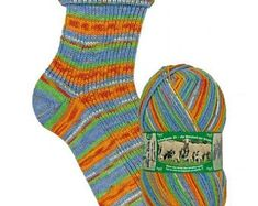 Sock yarn Opal Schafpate 10 years celebration sockyarn 425 meter supreme quality wool for socks and jumpers shade nr. Crochet Supplies, Crochet Books, Yarn Shop, Counted Cross Stitch Kits, Sock Yarn, Vintage Patterns, Knitting Socks, Opal, Jumpers