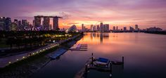 https://flic.kr/p/xy23Y1 | Sunset on Marina | Thank you everyone for your generous faves and positive comments. Really appreciate. Have a good day ahead.