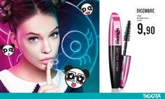 Mascara @LOrealEurope #missmanga. Vieni a scoprirlo negli store Tigotà. #bellezza #beauty #trend #mascara #makeup #dicembre #natale #christmas