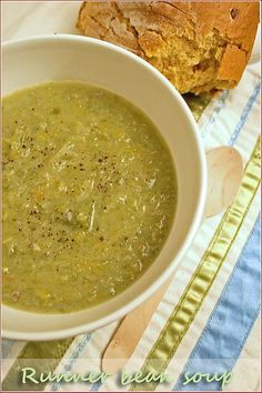 Runner bean soup - Cooksister | Food, Travel, Photography