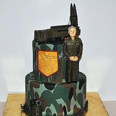 Ракетчик. Взрослые торты на заказ в Москве