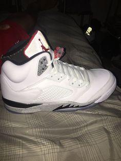 f1fd0f6c9c1 Air Jordan 5 White Cement #fashion #clothing #shoes #accessories #mensshoes  #