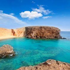 Lanzarote El Papagayo Playa Beach in Canaries