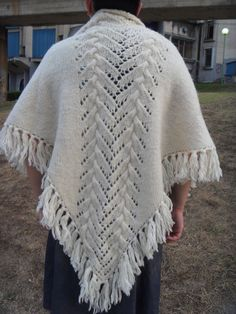Hand knit women wool white scarf wrap scarves Hand-Knitting Wool Shop Sheep and Wool Festival Knitting Wool Wrap Hand Knitting Scarf Shawl - pinned by pin4etsy.com