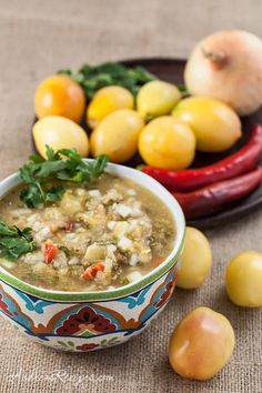 Sweet Yellow Tomato Salsa with Vidalia Onion, Red Chilies, Lime, and Cilantro (Sounds delicious, from Andrea Meyers)