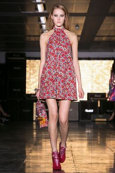 A look from the House of Holland Spring 2015 RTW collection.