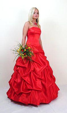 Abendkleid Rot