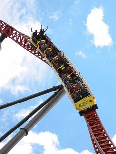 Expedition GE Force Holiday Park --#Germany. #rollercoaster #themepark