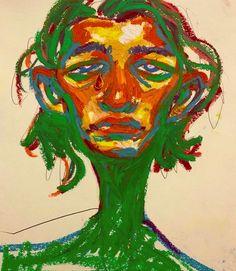 Colorful Drawings, Art Drawings, Oil Pastel Art, Small Canvas Art, A Level Art, Art Hoe, Psychedelic Art, Aesthetic Art, Love Art