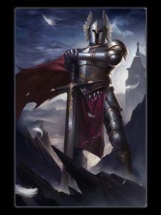 Fase 4 Fantasy Armor, Fantasy Weapons, Medieval Fantasy, Dark Fantasy, Warrior Concept Art, Armor Concept, Epic Characters, Fantasy Characters, Medieval Drawings