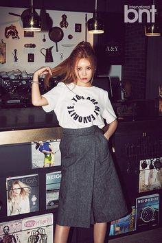 ガールズグループT-ARAのキュリ(30歳(数え年))が「議論になっている話には、事実ではない部分も多い」と話した。最近、「bnt」が公開したキュリとのインタビューで、「T-ARAがこれまでのイメー… - 韓流・韓国芸能ニュースはKstyle
