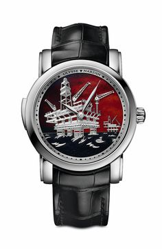 Ulysse Nardin North Sea Minute Repeater - WG - front