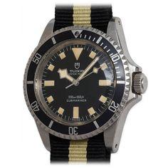 Tudor Stainless Steel Submariner Wristwatch Ref 7016/0