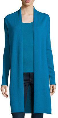 Shop Now - >  https://api.shopstyle.com/action/apiVisitRetailer?id=531864251&pid=uid6996-25233114-59 Neiman Marcus Cashmere Collection Long Cashmere Duster Cardigan, Plus Size  ...