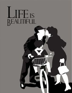 Life Is Beautiful - Roberto Benigni -poster by Luz Delgado Movie Poster Art, Film Posters, Poster Minimalista, Minimal Movie Posters, Alternative Movie Posters, Film Serie, Minimalist Poster, Illustrations And Posters, Great Movies