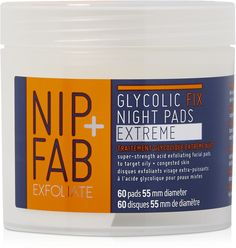 Nip + Fab Exfoliate Glycolic Fix Night Pads Extreme