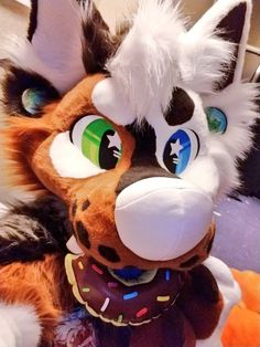 This is a really well-made fursuit, and the eyes are like the ones I am trying to create on my fursuit except, the right is a purple eye with a diamond pupil and the left is a green with a star pupil. Fursuit Yiff, Fursuit Head, Kung Fu Panda, Zootopia, Fursuit Tutorial, Furry Suit, Kawaii, Furry Drawing, Anthro Furry